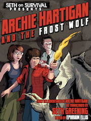 Archie Hartigan and the Frost Wolf cover